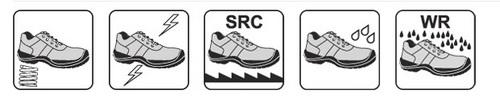 Bocanci de protectie militari Sirin Safety ZAMOLXIS 02 FO WR SRC